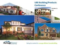 UBS Building & Building Products Tenth Annual CEO Conference - Slides