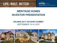 Zelman 2017 Housing Summit