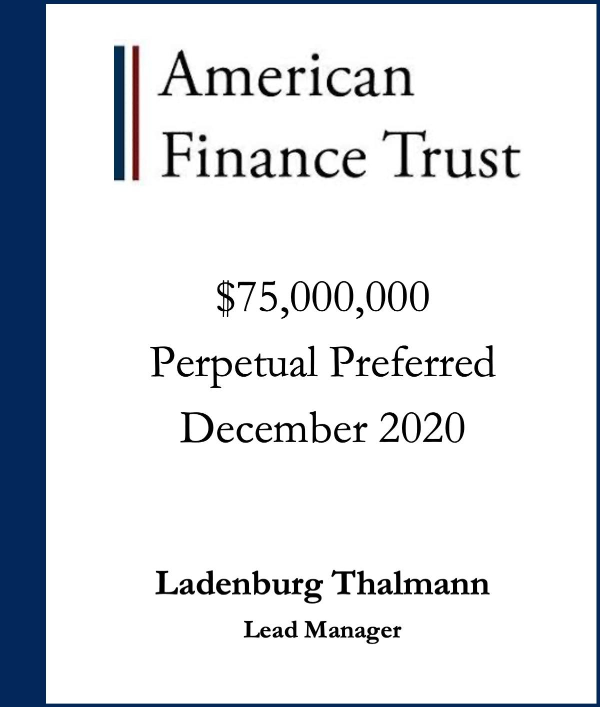 American Finance Trust