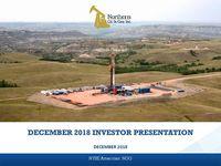 Investor Presentation - December 2018