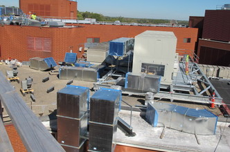 A picture of Mount Carmel St. Ann's AHU Replacement Project