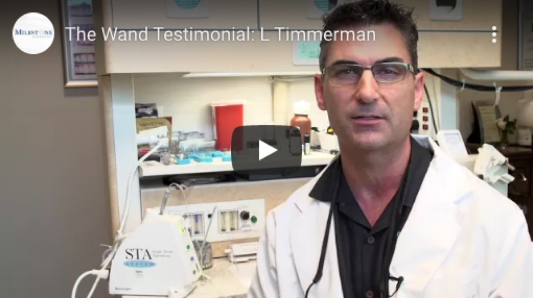 Dr. Lance Timmerman tells us about how The Wand provides the 'latest & greatest' technology.