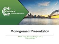Management Presentation - March 2017
