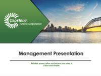 Management Presentation - July 2017