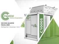 Q2 FY2020 Capstone Turbine Corporation Earnings Presentation