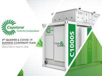 alphaDIRECT Virtual Conference Presentation: Capstone Turbine Corporation's 4th Quarter & Covid-19 Business Continuity Plan