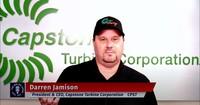 Capstone Turbine Corporation CEO, Darren Jamison on the #ShiftToGreen Campaign Initiative