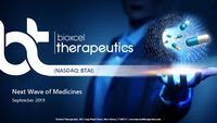 BioXcel Therapeutics Presentation