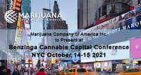 Marijuana Company of America Inc. to Present at Benzinga Cannabis Capital Conference