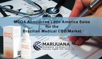 Marijuana Company of America Inc. Announces Latin America Sales and ANVISA Recognition for the Brazilian Medical CBD Market