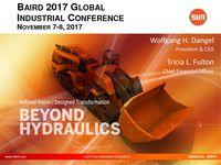 Sun Hydraulics Corporation Baird 2017 Global Industrial Conference Presentation