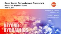 Stifel 2018 Cross Sector Insight Conference