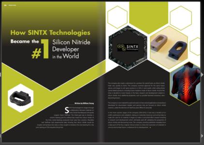 How SINTX Became the #1 Silicon Nitride Developer Globally