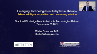 Emerging Technologies in Arrhythmia Therapy Advanced Signal acquisition and processing solution – PURE EP™