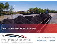 Capital Raising Presentation
