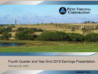 Fourth Quarter 2019 Earnings Presentation