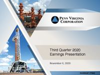 Third Quarter 2020 Earnings Presentation