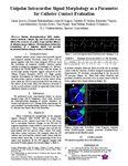 Unipolar Intracardiac Signal Morphology as a Parameter for Catheter Contact Evaluation