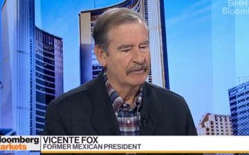 Former Mexican president Vicente Fox goes all-in on medicinal marijuana thumbnail