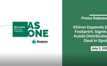Khiron Expands EU Footprint, Signing Kuida™ Distribution Deal in Spain thumbnail