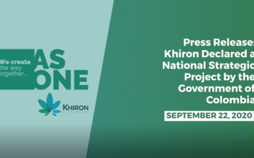 Khiron Declared a National Strategic Project by the Government of Colombia thumbnail