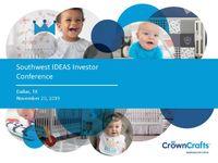 Southwest IDEAS Investor Conference Presentation