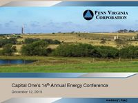 Capital One's 14th Annual Energy Conference Presentation
