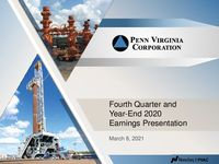 Fourth Quarter and Year-End 2020 Earnings Presentation