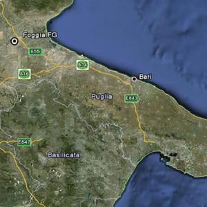 Troia 9, Italy Map