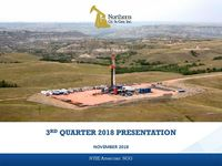 Third Quarter 2018 Earnings Presentation