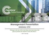 Management Presentation - April 2018