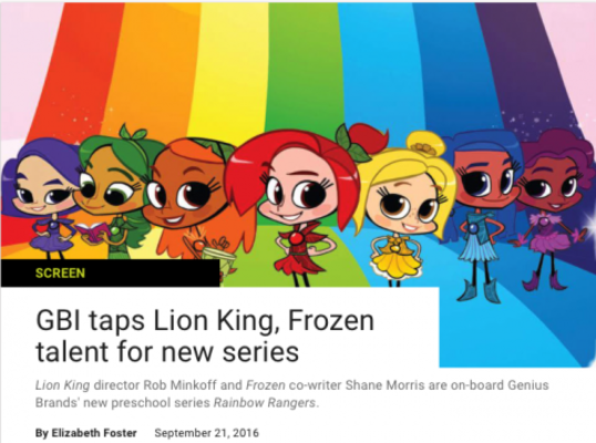 GBI taps Lion King, Frozen talent for new series