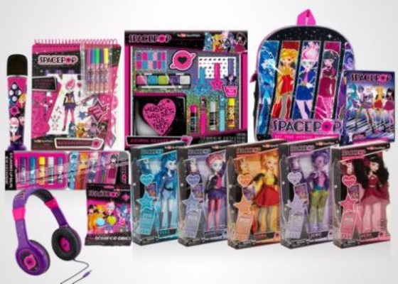 Genius Brands International and Toys'R'Us Announce Distribution Deal of Its Hit Brand, SpacePOP