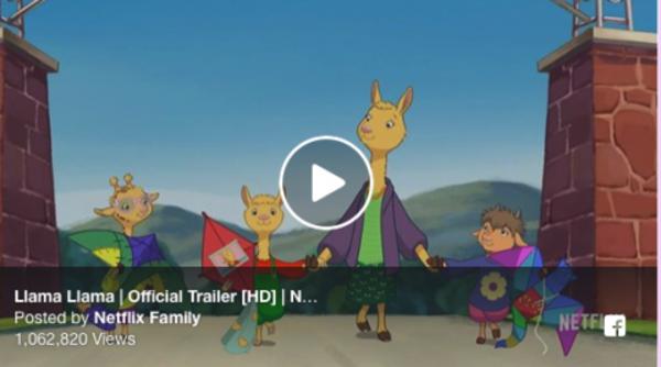 "Netflix Just Released Its First ""Llama Llama"" TV Show Trailer"