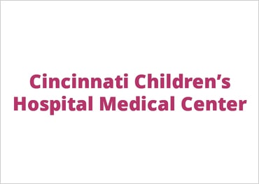 Logo for Cincinnati Children's Hospital Medical Center