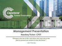 Management Presentation - July 2018