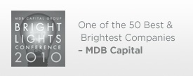 MDB Capital Award