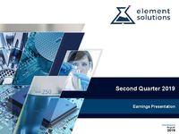 2019 Second Quarter Financial Results Call