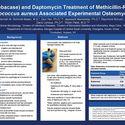 CF-301 and Daptomycin Treatment of Methicillin-Resistant Staphylococcus aureus Associated Experimental Osteomyelitis