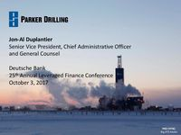 Deutsche Bank 25th Annual Leveraged Finance Conference