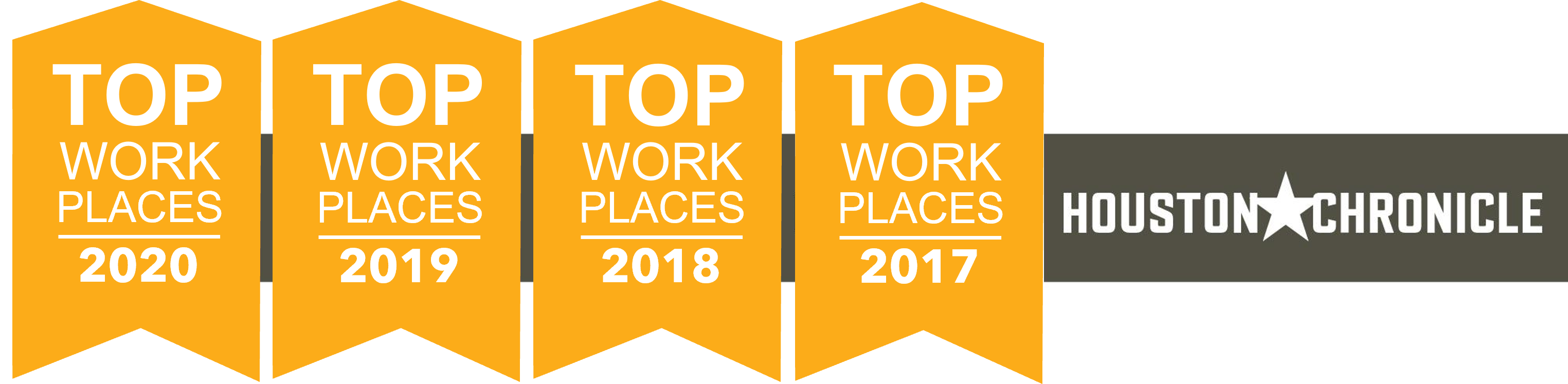 Callon Petroleum has been recognized as a Top Workplace by the Houston Chronicle four years in a row -  2017, 2018, 2019, and 2020!