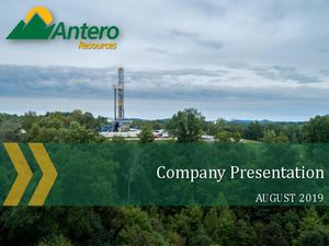 August Company Presentation