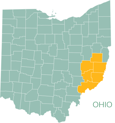 Map of Utica Shale