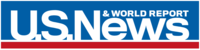 U.S. News and World Report Logo in blue