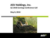 ASV Q1 2018 Update Slides