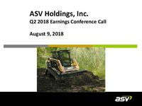 ASV Q2 2018 Update Slides