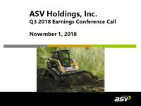 ASV Q3 2018 Update Slides