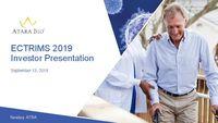 ECTRIMS 2019 Investor Presentation