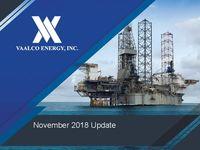 November 2018 Company Update