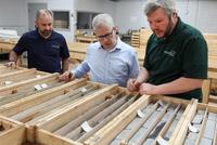 Congressman tours Gaston lithium project
